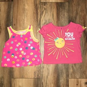12 month summer shirt bundle